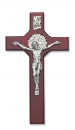 "10.5"" Cherry St. Benedict Crucifix"