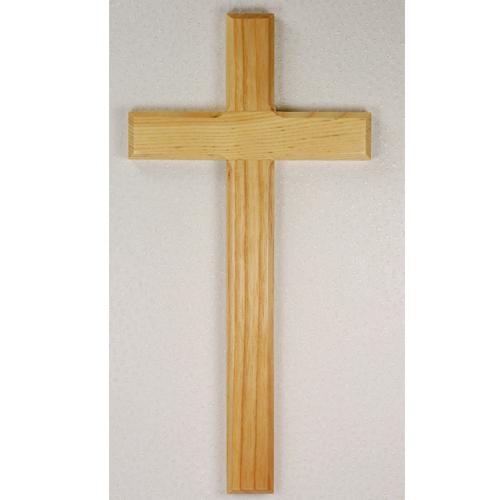 """10"""" Oak Cross"""