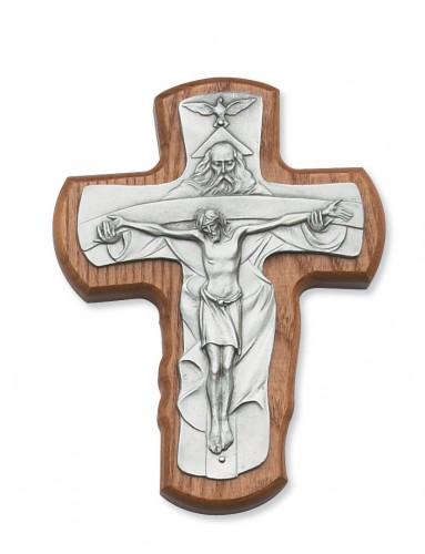 """5 1/2"""" Walnut Stained Trinity"""