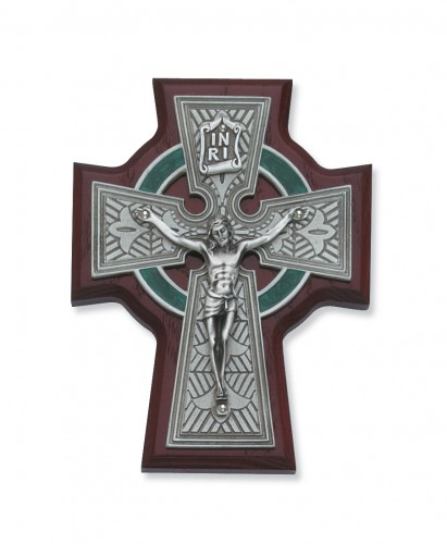 "5 1/4"" Cherry Celtic Crucifix"
