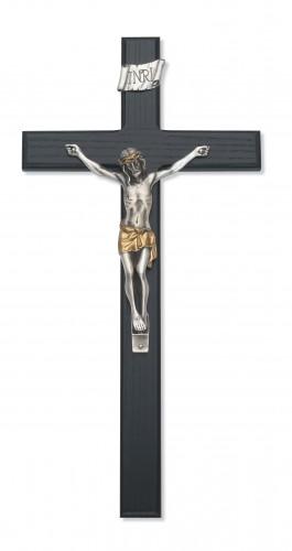"""15"""" Black Crucifix"""