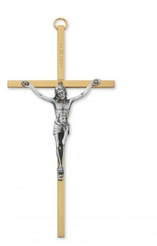 "6"" Sterling Silver Crucifix"