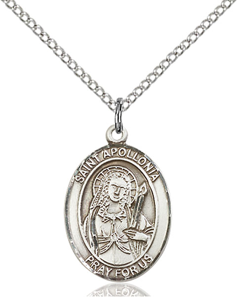 Sterling Silver St. Apollonia Pendant