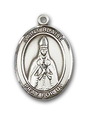 Sterling Silver St. Blaise Pendant