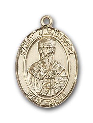 14K Gold St. Alexander Sauli Pendant