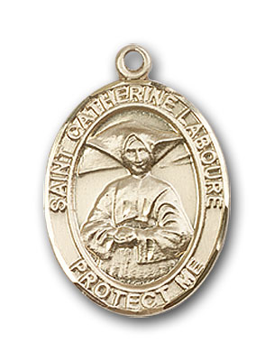 Gold-Filled St. Catherine Laboure Pendant