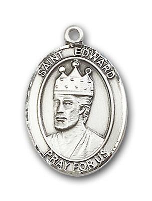 Sterling Silver St. Edward the Confessor Pendant