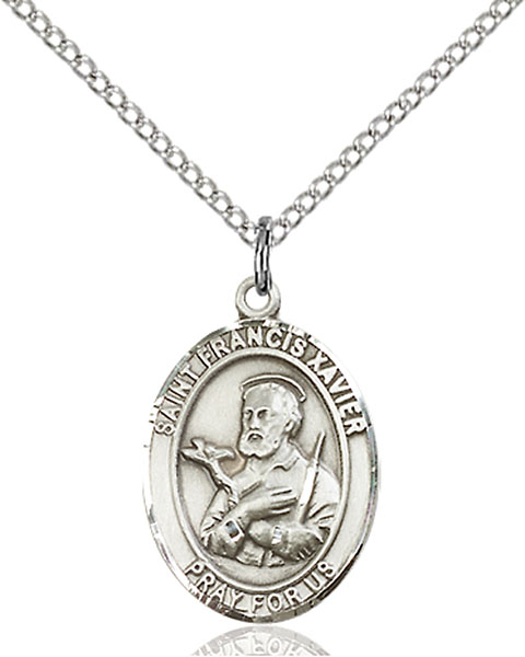 Sterling Silver St. Francis Xavier Pendant
