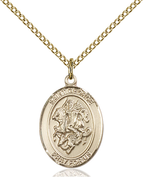Gold-Filled St. George Pendant