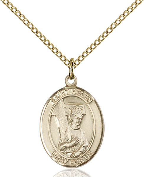 Gold-Filled St. Helen Pendant