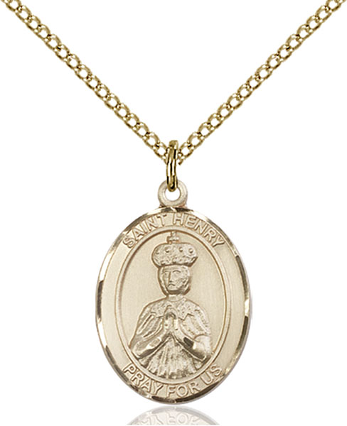 Gold-Filled St. Henry II Pendant