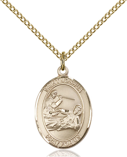 Gold-Filled St. Joshua Pendant