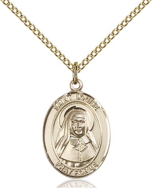 Gold-Filled St. Louise De Marillac Pendant