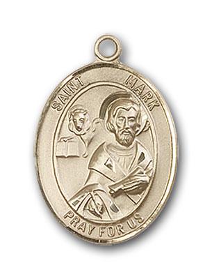 Gold-Filled St. Mark the Evangelist Pendant