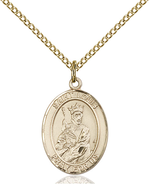 Gold-Filled St. Louis Pendant