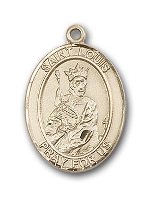 14K Gold St. Louis Pendant
