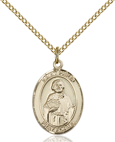 Gold-Filled St. Philip Neri Pendant
