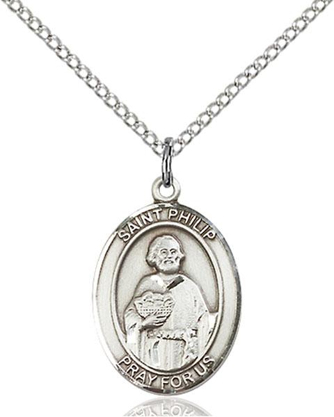 Sterling Silver St. Philip Neri Pendant