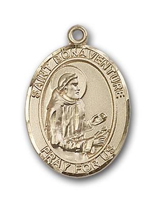 Gold-Filled St. Bonaventure Pendant
