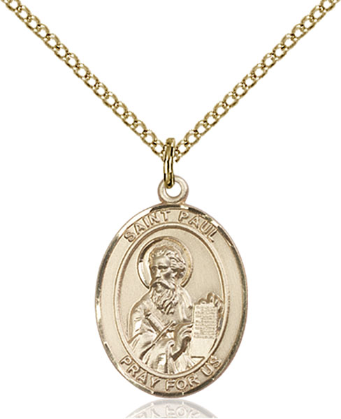 Gold-Filled St. Paul the Apostle Pendant