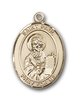 14K Gold St. Paul the Apostle Pendant