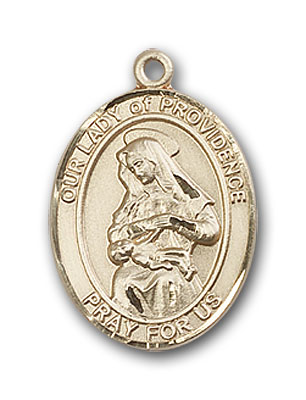 14K Gold OUR LADY of Providence Pendant