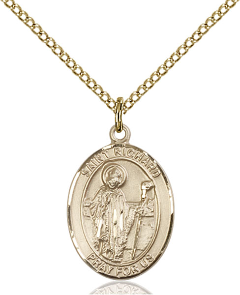 Gold-Filled St. Richard Pendant
