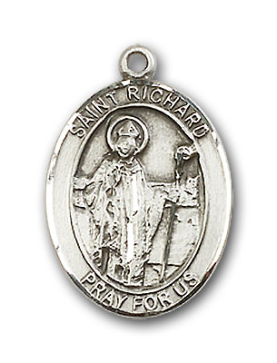 Sterling Silver St. Richard Pendant