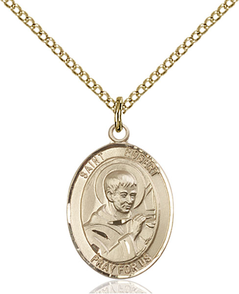 Gold-Filled St. Robert Bellarmine Pendant