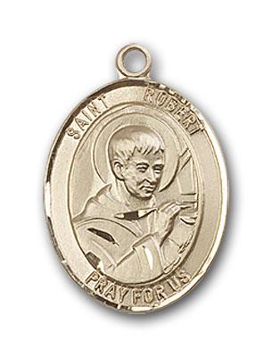 14K Gold St. Robert Bellarmine Pendant