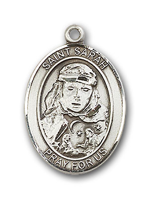 Sterling Silver St. Sarah Pendant