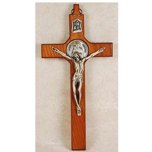 """8"""" St. Joseph Crucifix"""