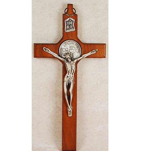 """8"""" St. Patrick Crucifix"""