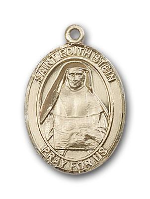 14K Gold St. Edith Stein Pendant