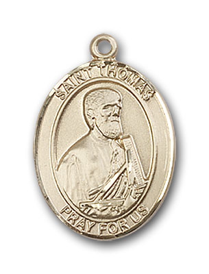 14K Gold St. Thomas the Apostle Pendant