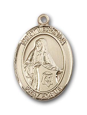 14K Gold St. Veronica Pendant
