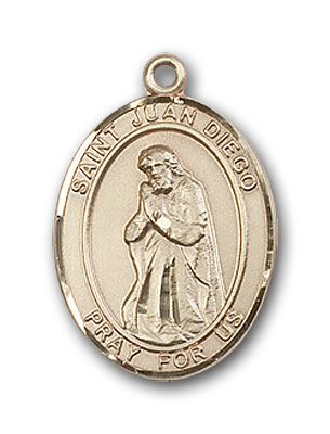Gold-Filled St. Juan Diego Pendant