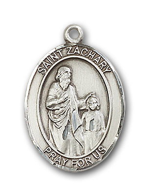 Sterling Silver St. Zachary Pendant