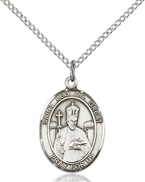 Sterling Silver St. Leo the Great Pendant