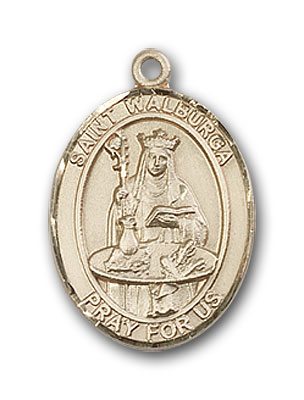 Gold-Filled St. Walburga Pendant