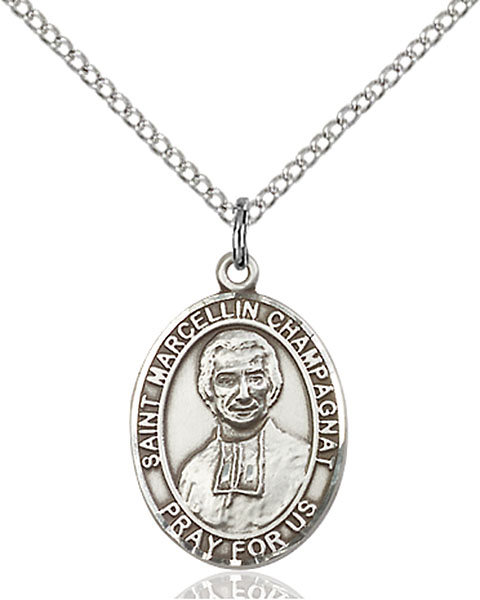 Sterling Silver St. Marcellin Champagnat Pendant