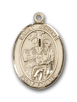 Gold-Filled St. Jerome Pendant