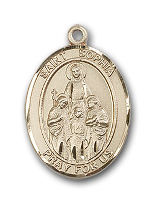Gold-Filled St. Sophia Pendant