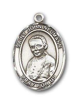 Sterling Silver St. John Neumann Pendant
