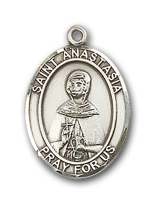 Sterling Silver St. Anastasia Pendant