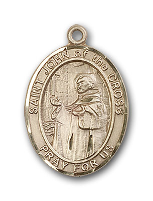 14K Gold St. John of the Cross Pendant