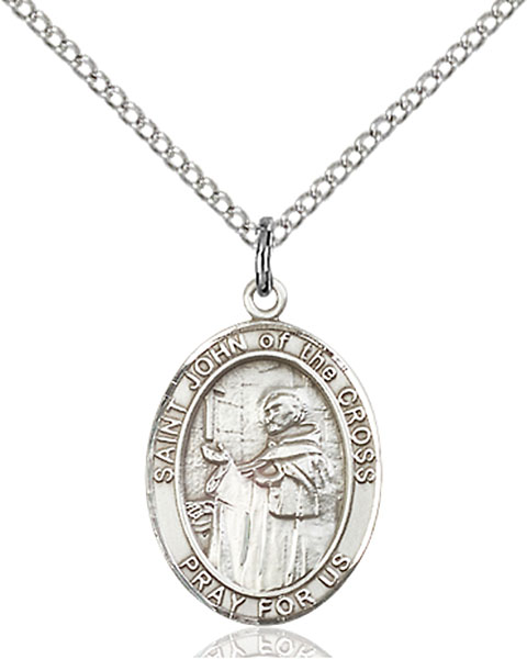 Sterling Silver St. John of the Cross Pendant