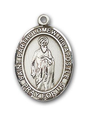 Sterling Silver St. Bartholomew the Apostle Pendan