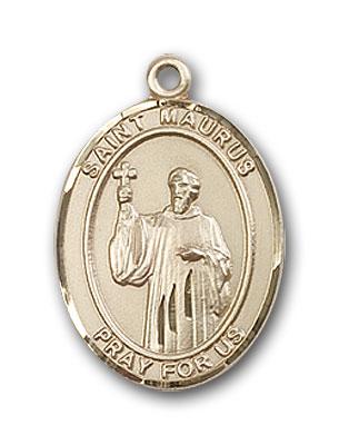 14K Gold St. Maurus Pendant