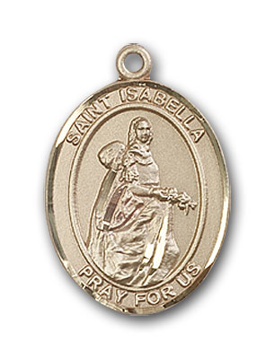 Gold-Filled St. Isabella of Portugal Pendant